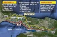 Kuzey marmara otoyolu ve 3. Boğaz Köprüsü bağlantı yolları