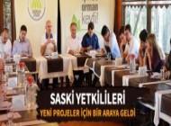 SASKİ Yetkilileri Bir Araya Geldi Sakarya Büyükşehir Belediyesi