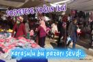 Karasu Sosyete Pazarı Açıldı.